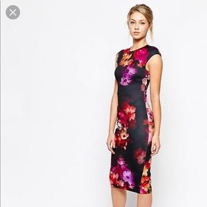 🚨 FLASH SHALE🚨Ted Baker Cascading Floral Dress